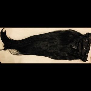 BRAND NEW! Luxury clip-in hair extensions